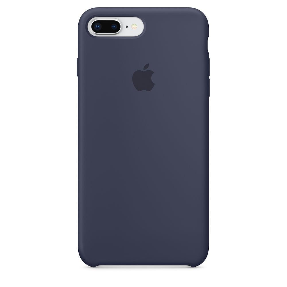 Capa Silicone para iPhone 7 Plus e iPhone 8 Plus - 0