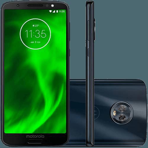 cb635d133 SMARTPHONE MOTOROLA MOTO G6 32GB DUAL CHIP ANDROID OREO - 8.0 TELA 5.7
