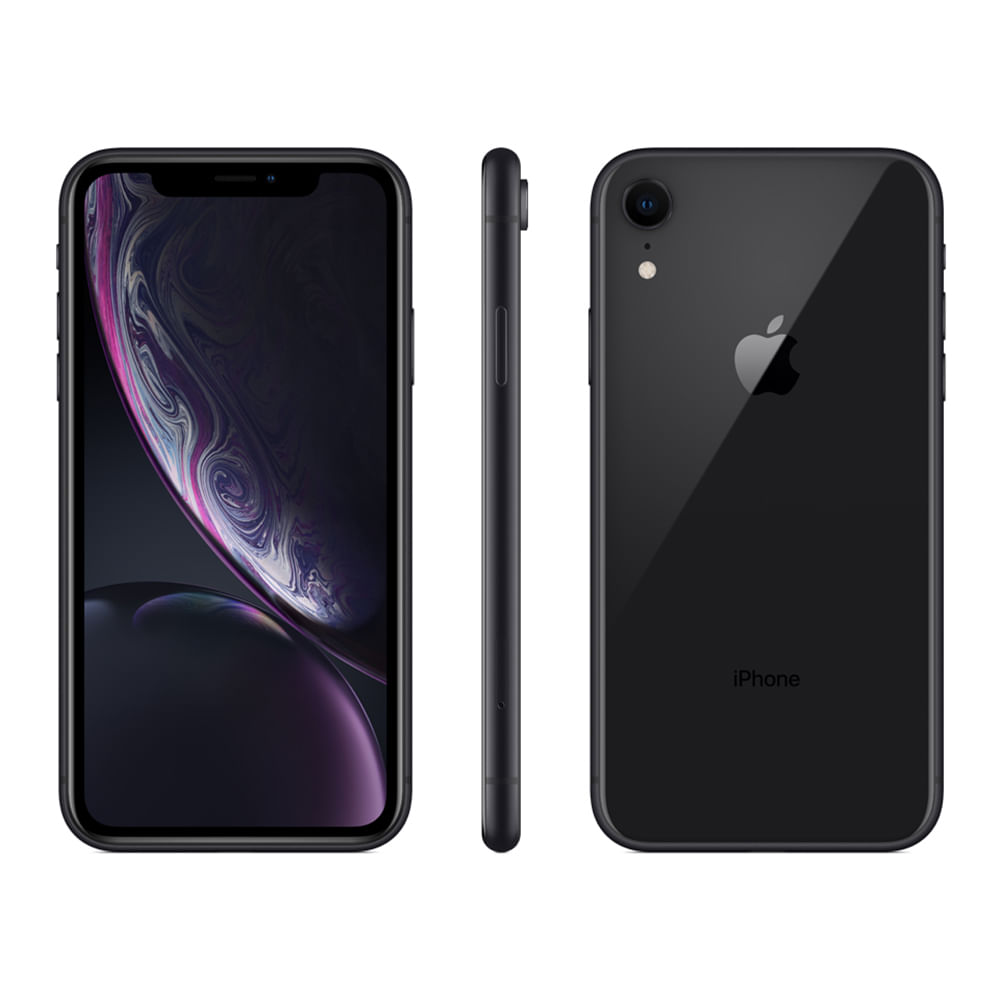 iPhone XR 64GB - Preto - 1