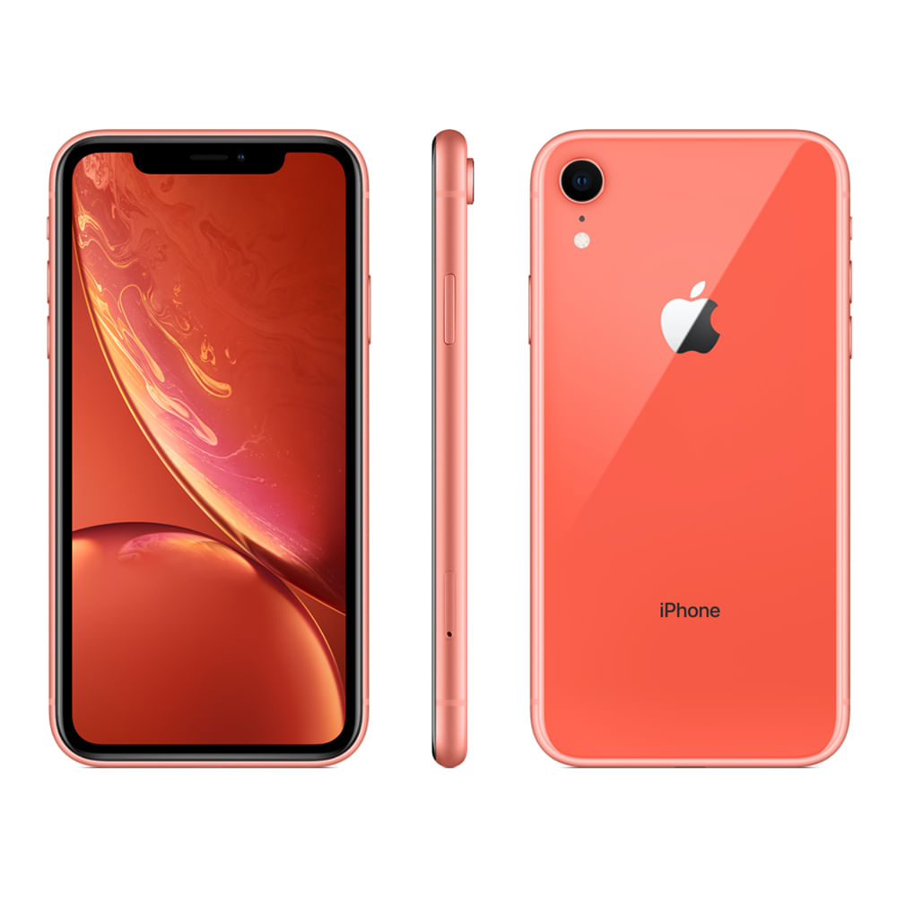 iPhone XR 256GB - Coral - 1