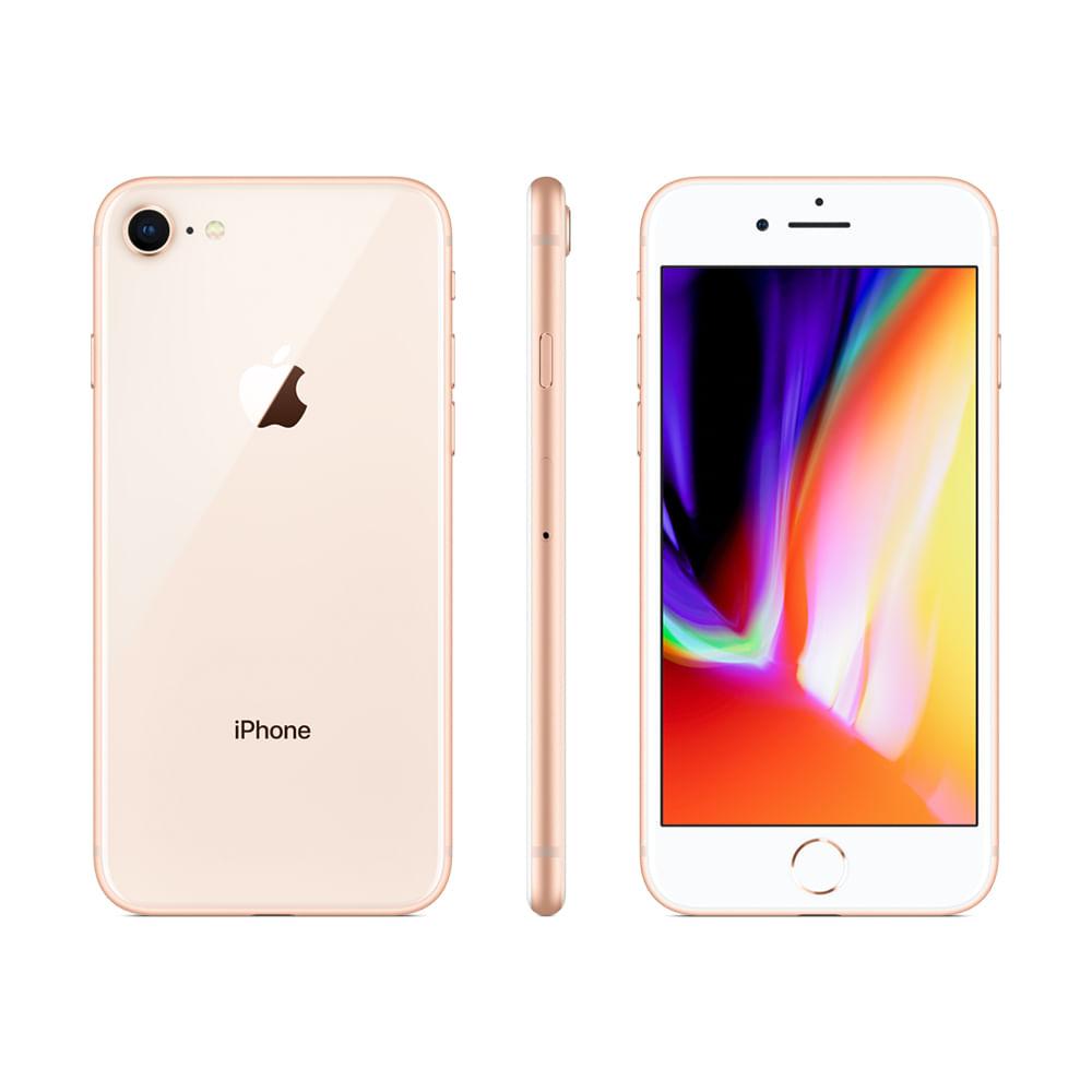 iPhone 8 64GB - Dourado - 1