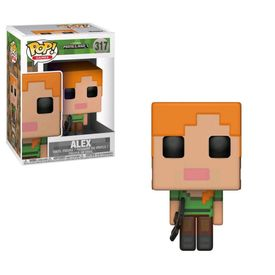 BONECO-FUNKO-POP-GAMES-MINECRAFT-ALEX-FUNKO0099
