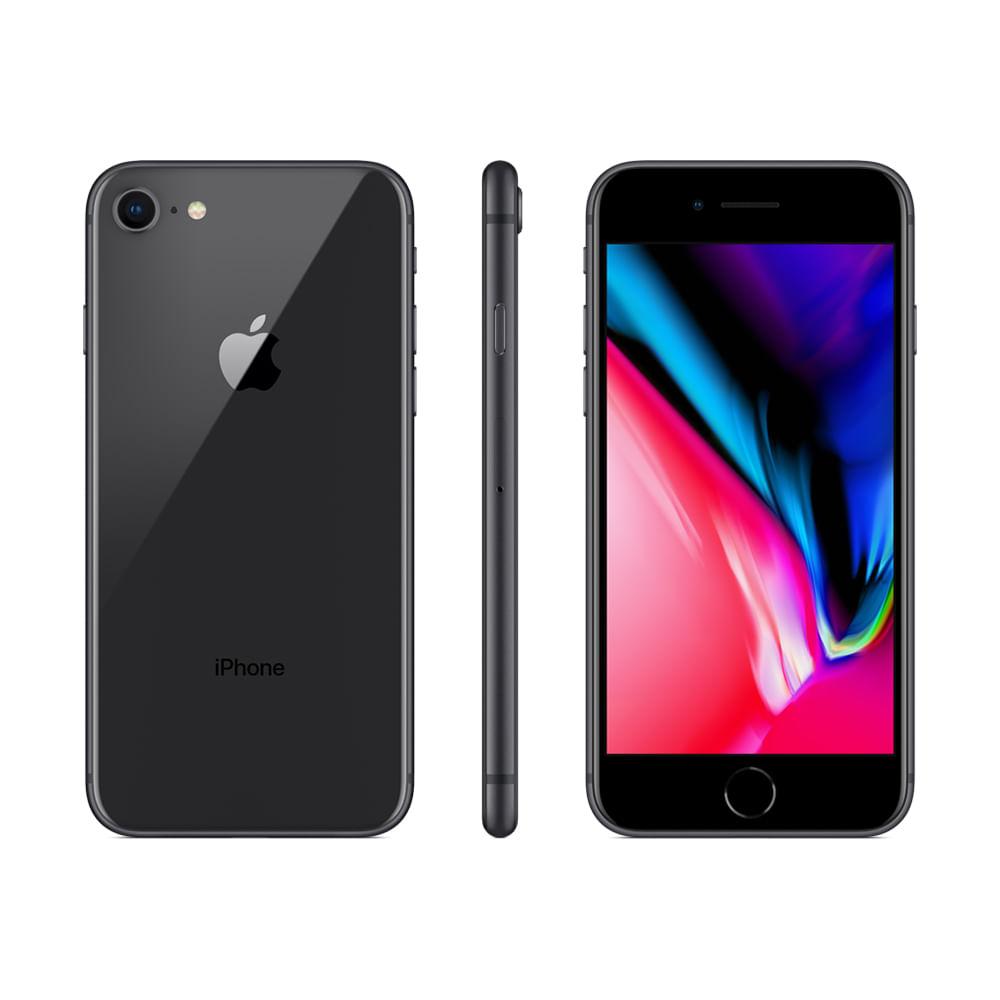 iPhone 8 64GB - Cinza-espacial - 1