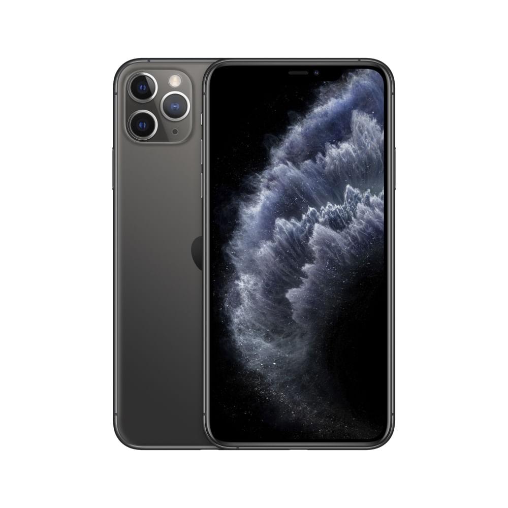 """iPhone 11 Pro Apple 64GB Cinza-espacial 5,8"""" 12MP - iOS - 0"""