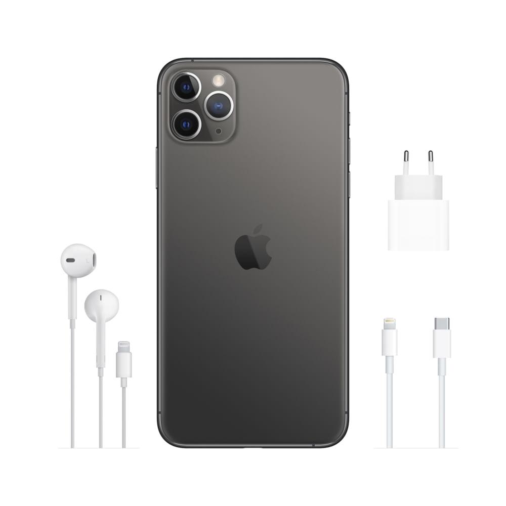"""iPhone 11 Pro Apple 64GB Cinza-espacial 5,8"""" 12MP - iOS - 5"""