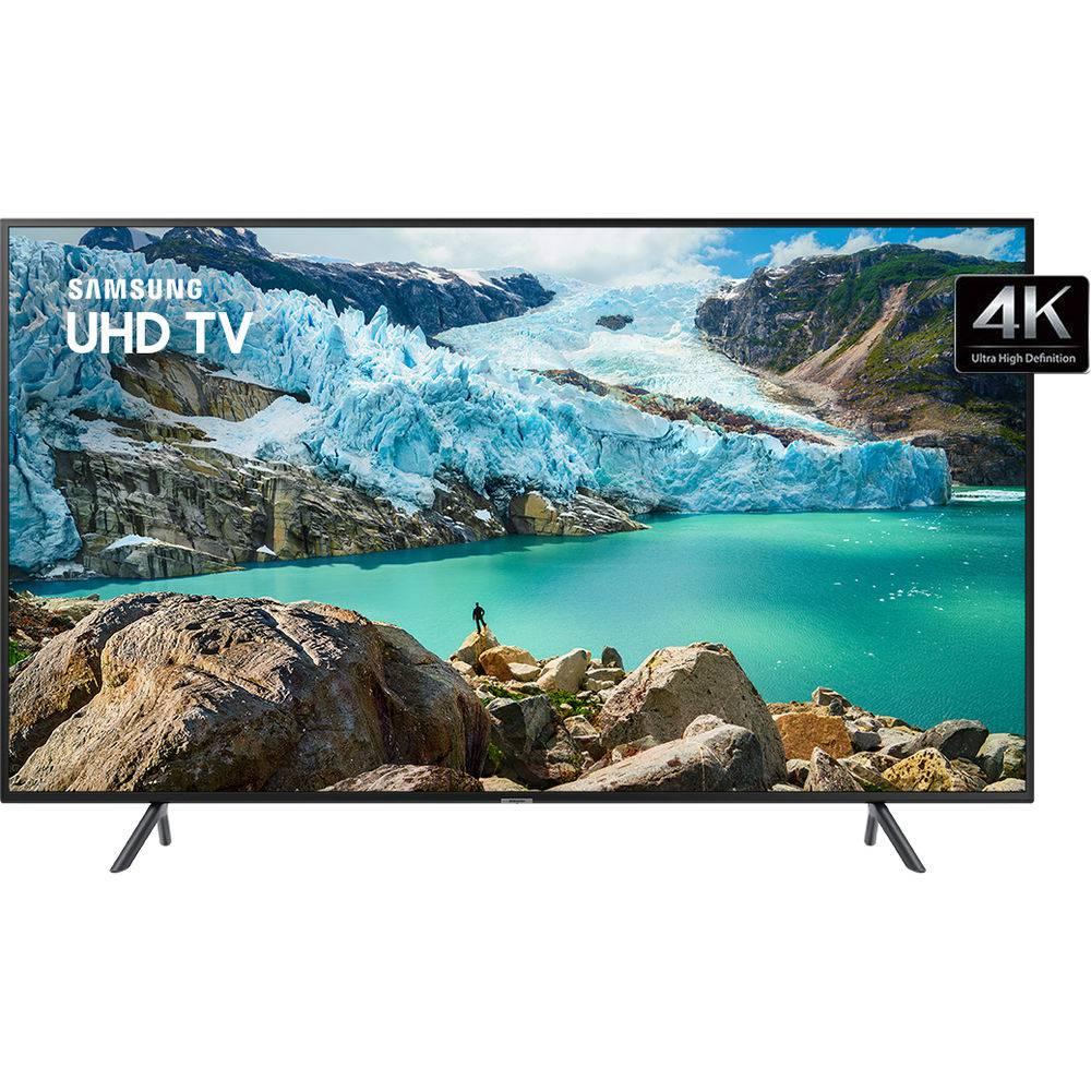 "Smart TV LED 55"" Samsung RU7100 UN55RU7100GXZD Ultra HD 4K HDMI USB Wi-Fi Conversor Digital - 3"