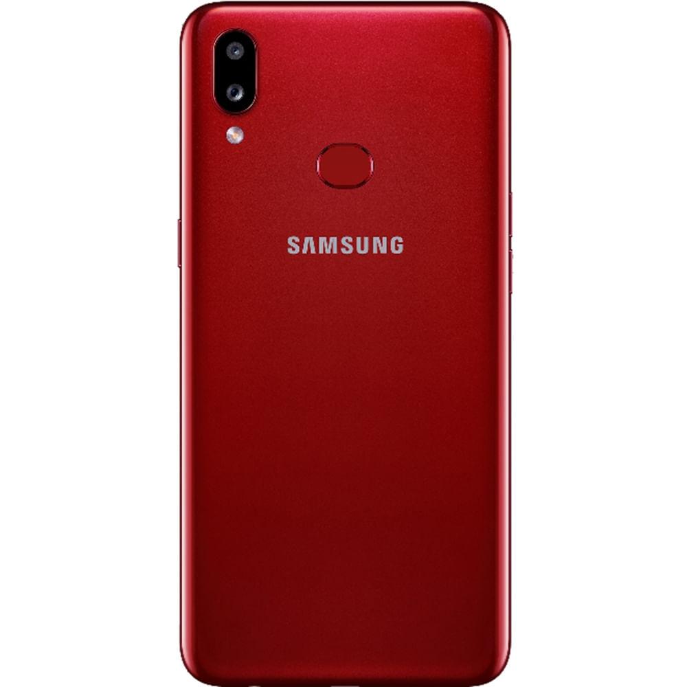 """Smartphone Samsung Galaxy A10s 32GB Dual Chip Android 9.0 Tela 6.2"""" Octa-Core 4G Câmera 13MP+2MP - Vermelho - 6"""