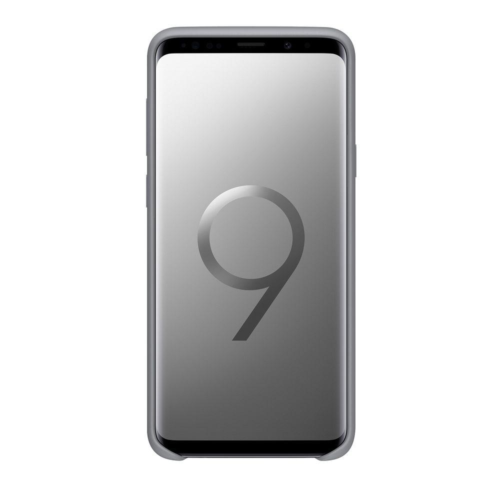 Capa para Galaxy S9 Silicone Cover Cinza - Samsung - EF-PG960TJEGBR - 2