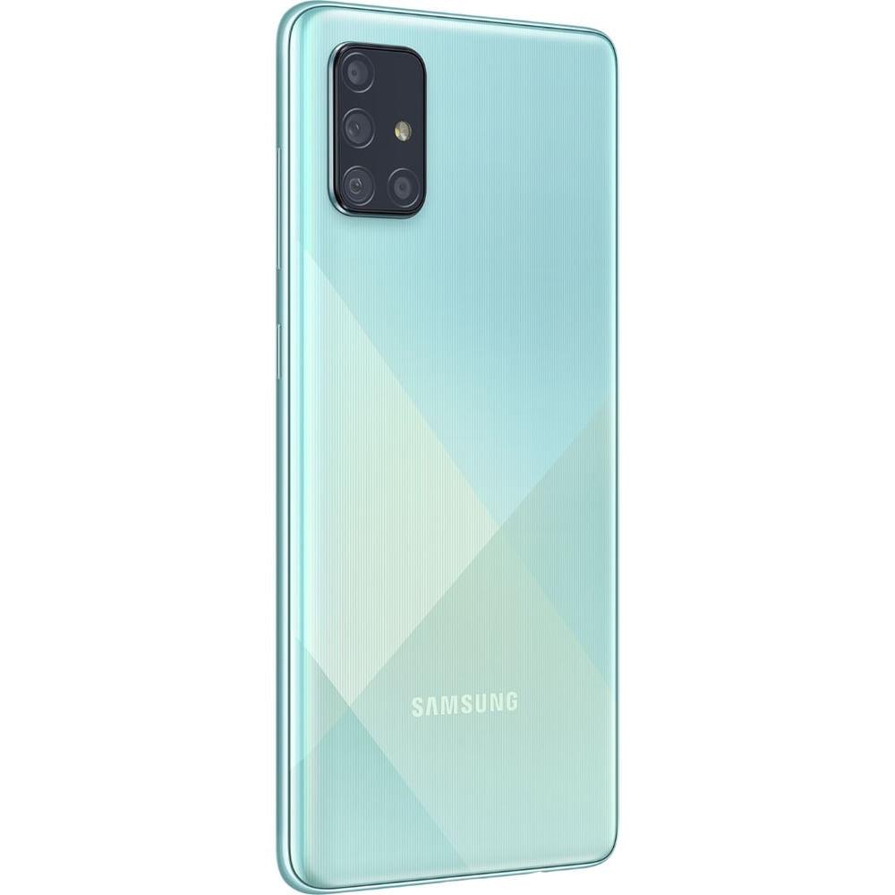 """Smartphone Samsung Galaxy A71 Azul 128GB, Tela Infinita de 6.7"""", Câmera Traseira Quádrupla, Leitor Digital na Tela, 6GB RAM e Processador Octa-Core - 2"""