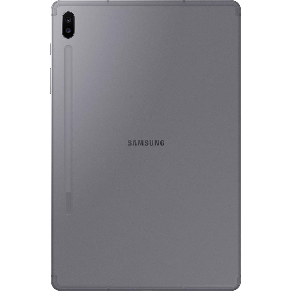 """Tablet Samsung Galaxy Tab S6 128GB 10,5"""" Wi-Fi - Android 9.0 Câm. Dupla + Selfie 8MP - Bivolt - 2"""