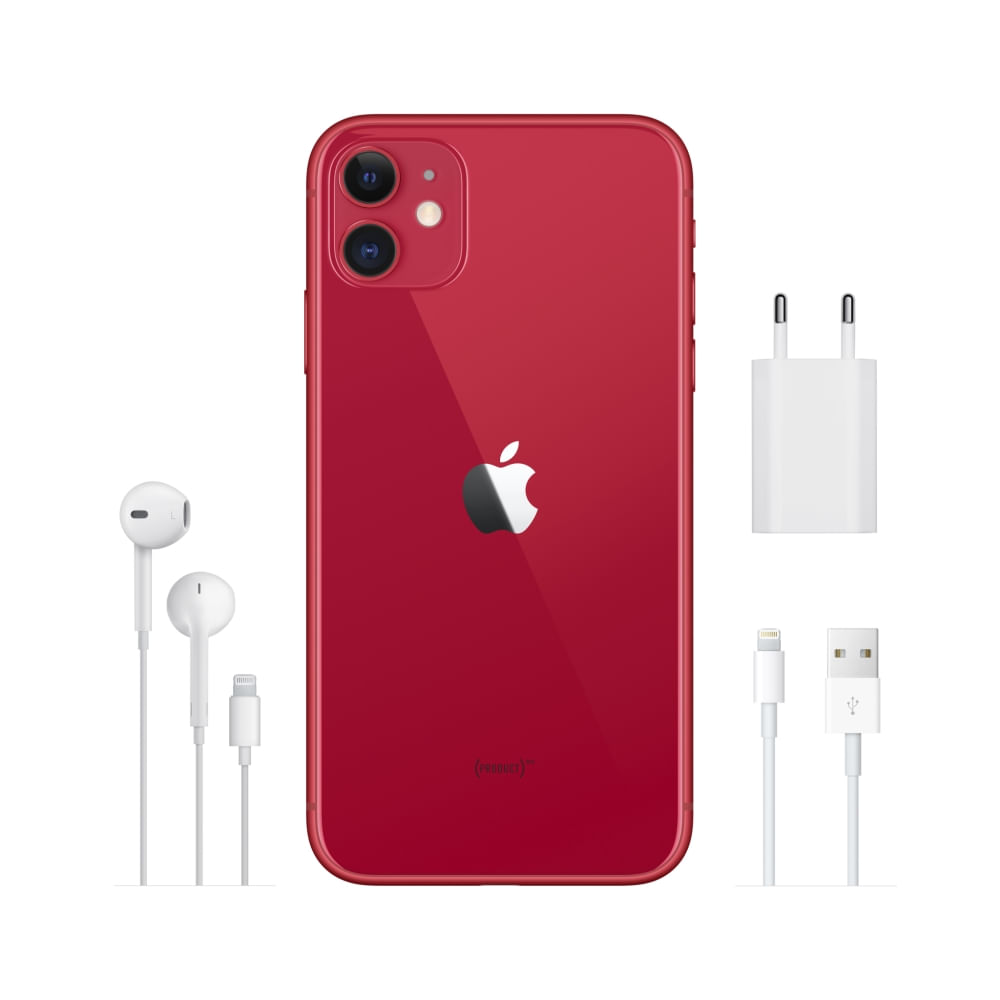 iPhone 11 64GB - (PRODUCT)RED - 5