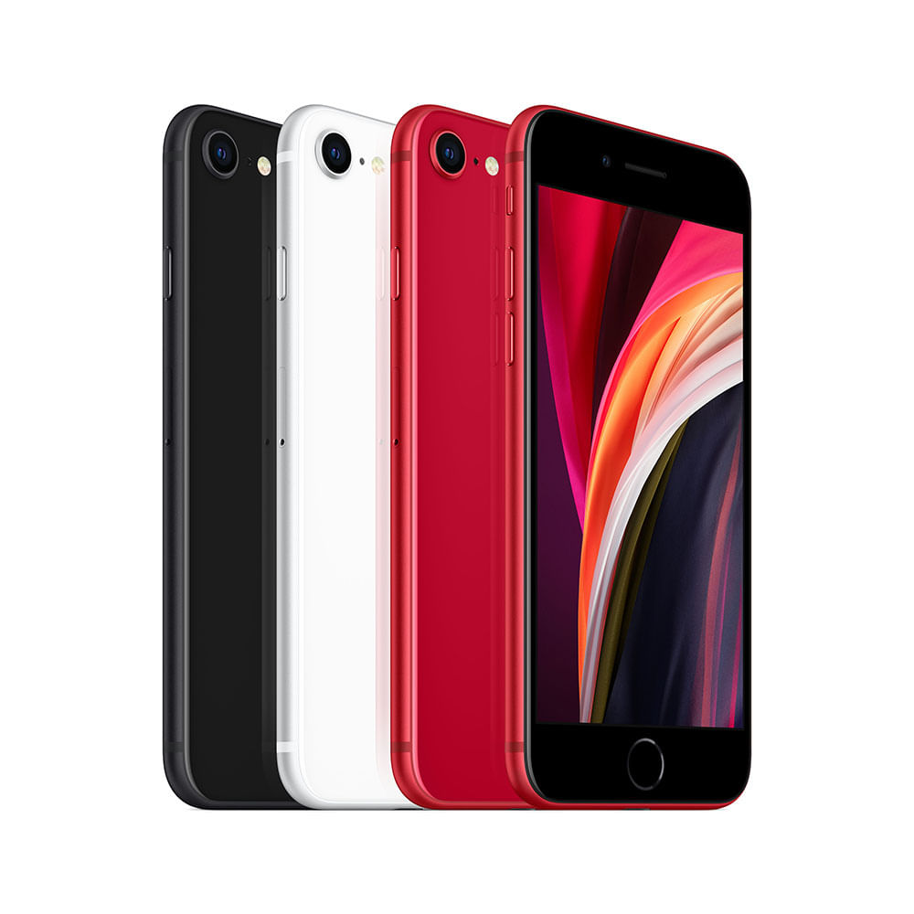 iPhone SE 256GB - Preto - 3