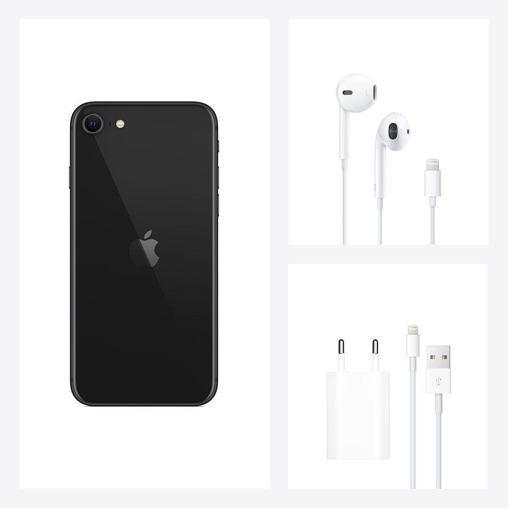iPhone SE 256GB - Preto - 4