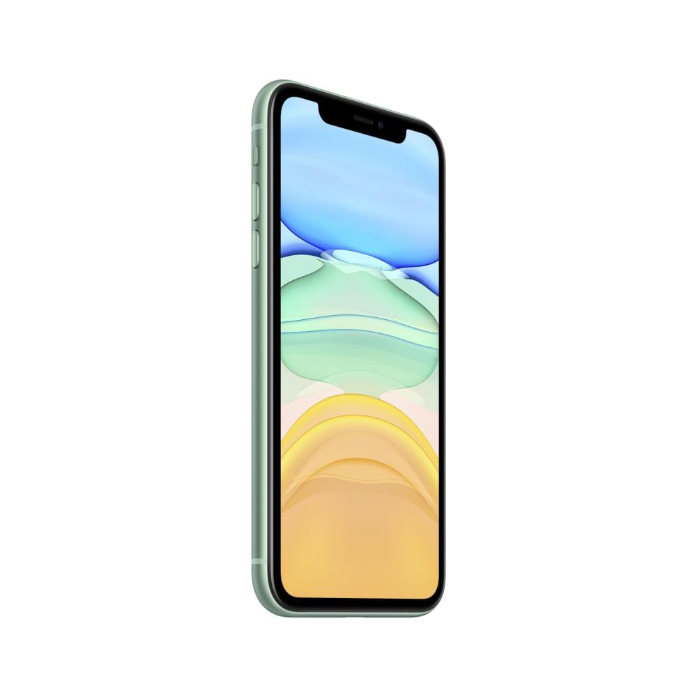 """iPhone 11 Apple com 256GB, Tela Retina HD de 6,1"""", iOS 13, Dupla Câmera Traseira de 12 MP, Resistente à Água e Bateria de Longa Duração -Verde - 3"""