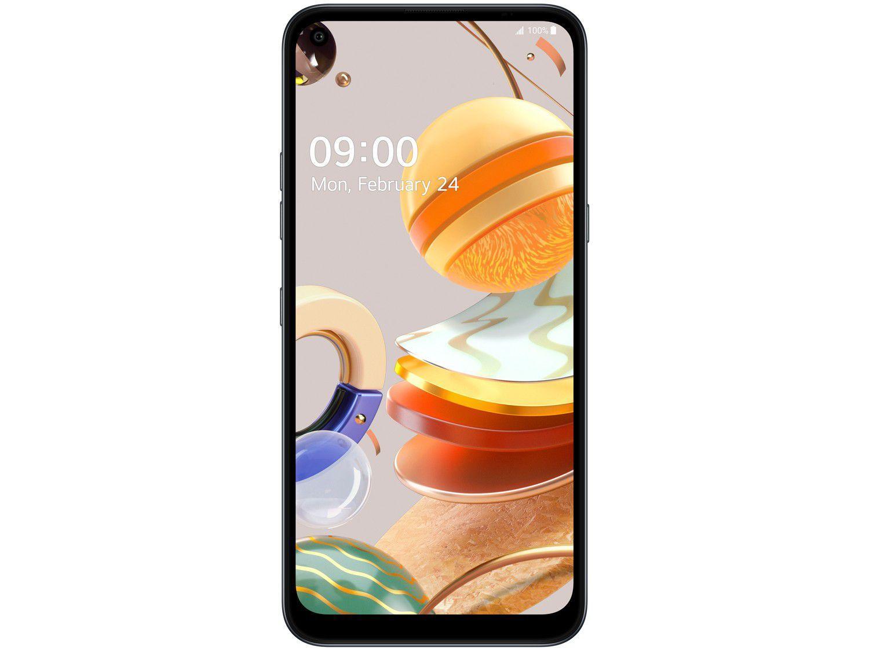 "Smartphone LG K61 128GB Titânio 4G Octa-Core - 4GB RAM 6,53"" Câm. Quádrupla + Selfie 16MP - 3"