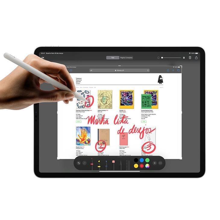 """iPad Pro 11"""" 256GB - Cinza-espacial - 5"""