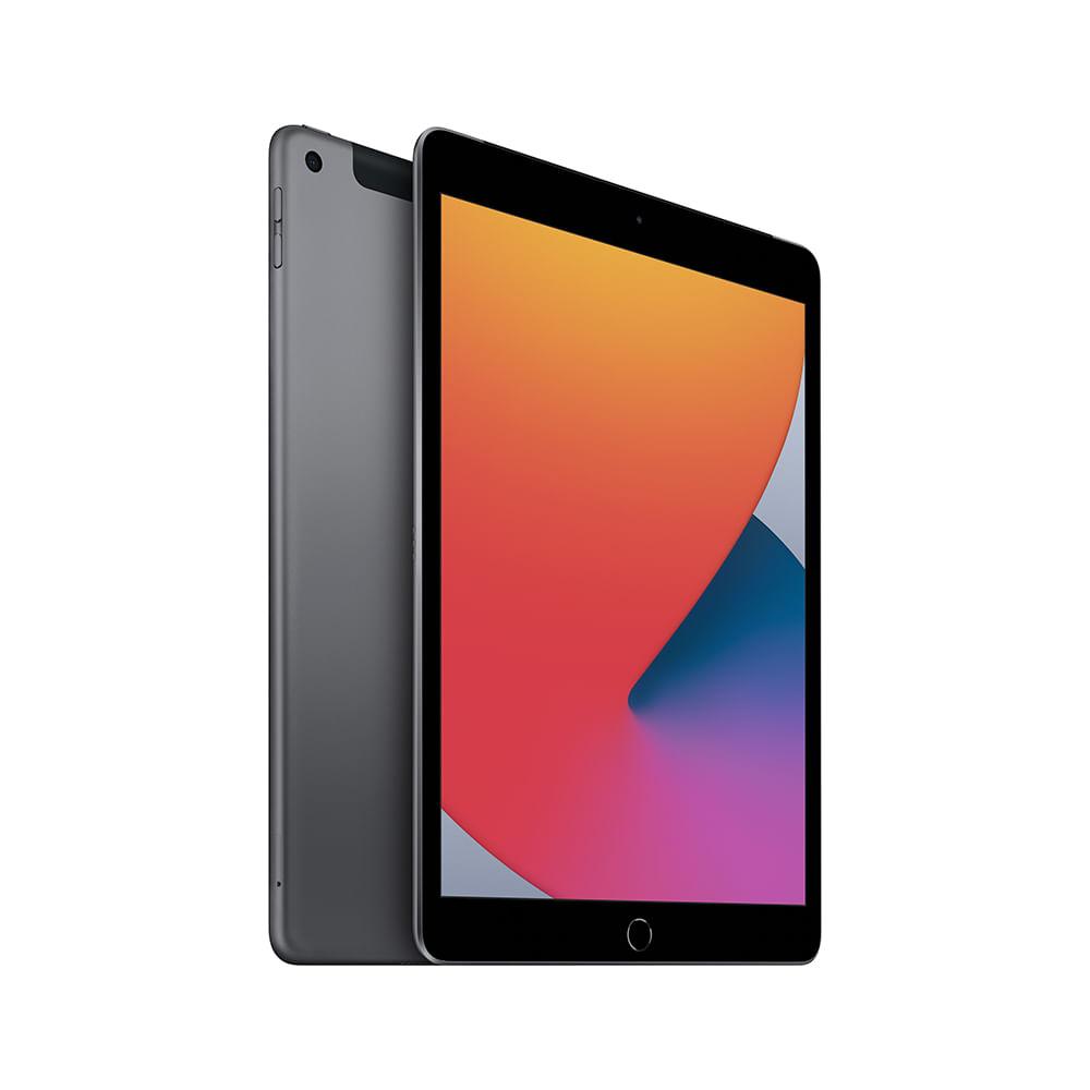 iPad 10,2'' 8ª geração Wi-Fi 128GB - Cinza-espacial - 1