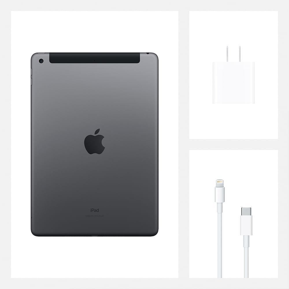 iPad 10,2'' 8ª geração Wi-Fi 128GB - Cinza-espacial - 8