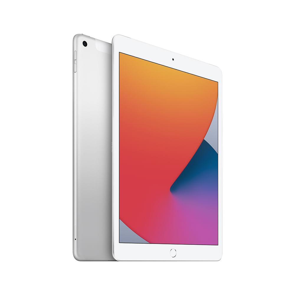 iPad 10,2'' 8ª geração Wi-Fi 32GB - Prateado - 1