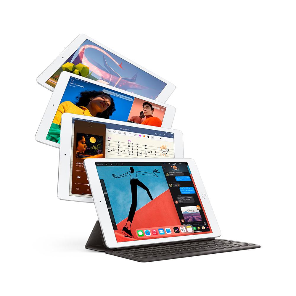iPad 10,2'' 8ª geração Wi-Fi 32GB - Prateado - 3