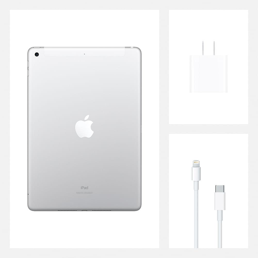 iPad 10,2'' 8ª geração Wi-Fi 32GB - Prateado - 8