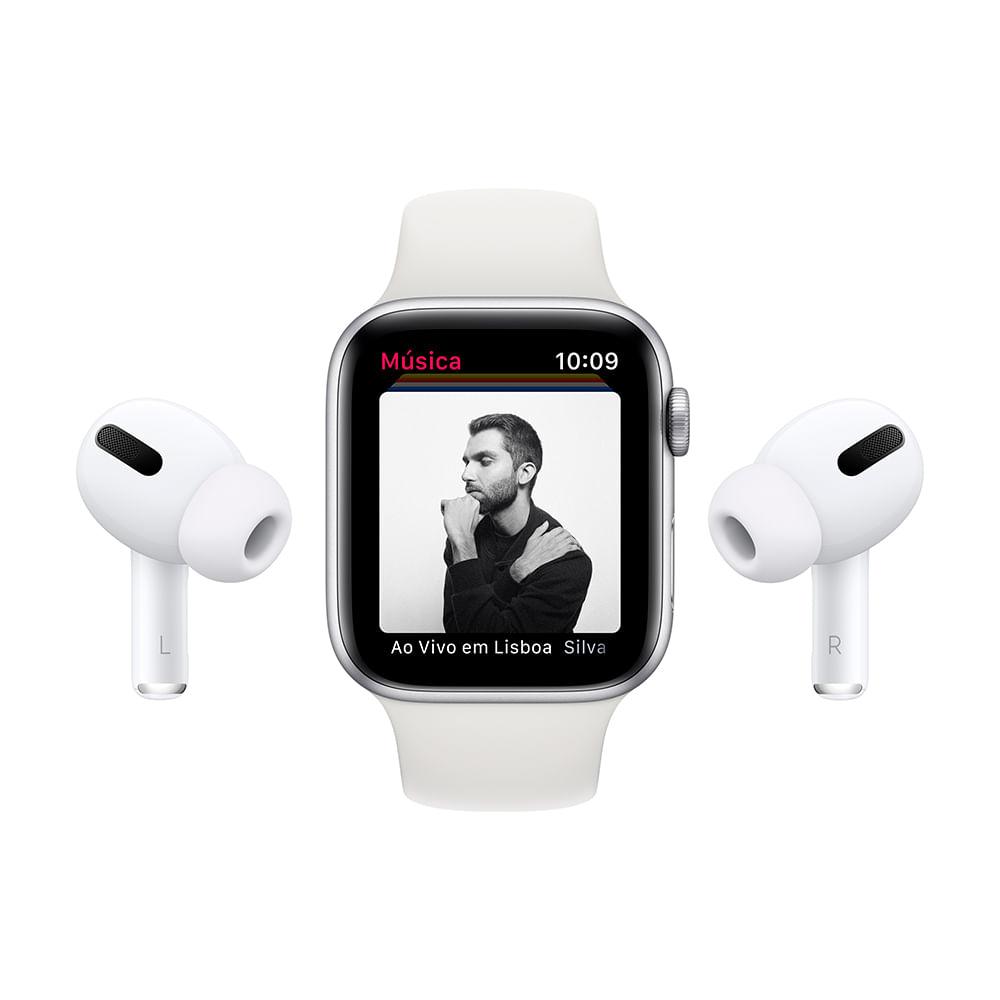 Apple Watch Series 6 (GPS) 40mm caixa dourada de alumínio com pulseira esportiva areia-rosa - 7