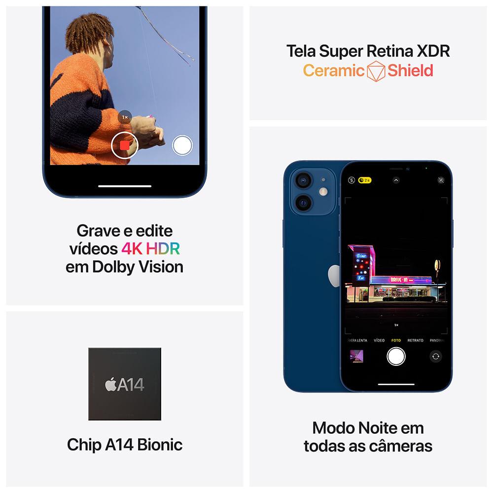 iPhone 12 mini 64GB - Branco - 4