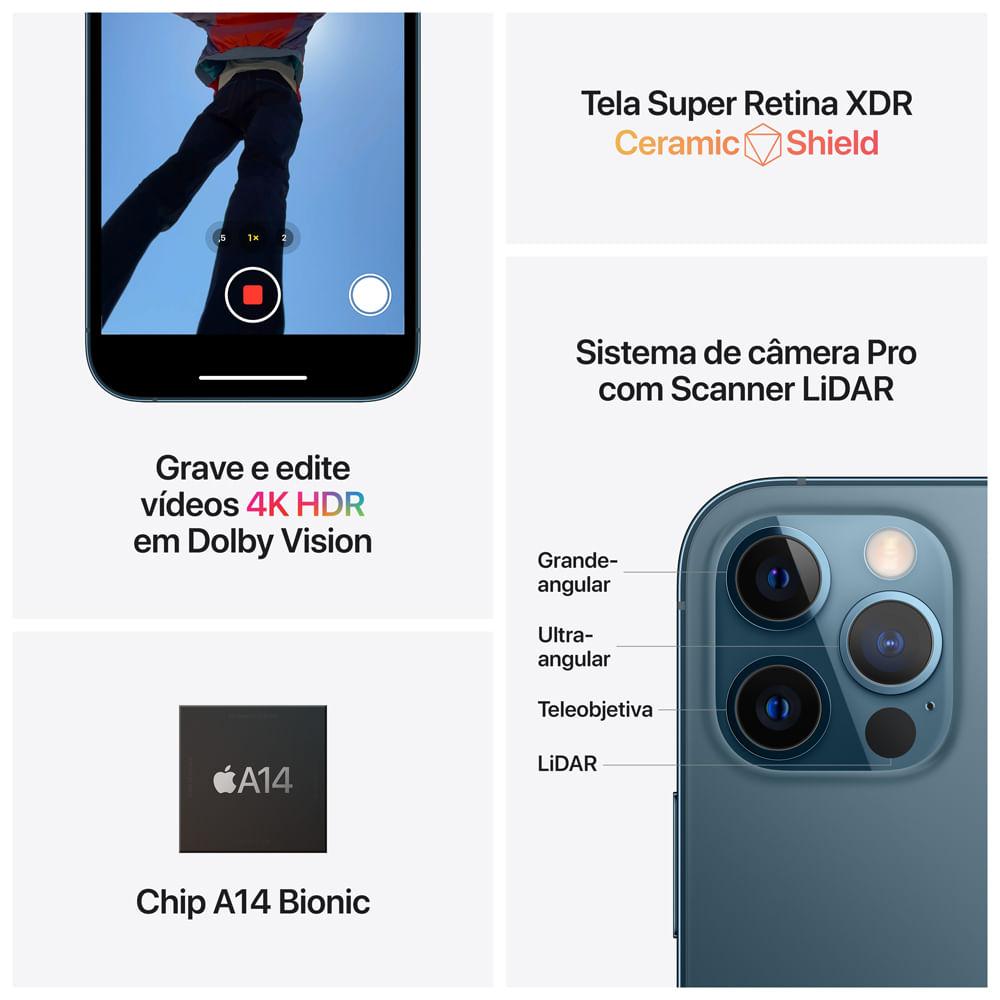 iPhone 12 Pro Max 128GB - Dourado - 5