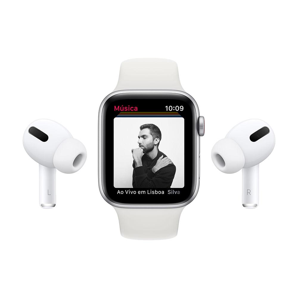 Apple Watch SE 44mm GPS - Caixa cinza-espacial e pulseira esportiva preto - 8